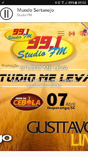 Rádio Studio FM 99.1- screenshot thumbnail