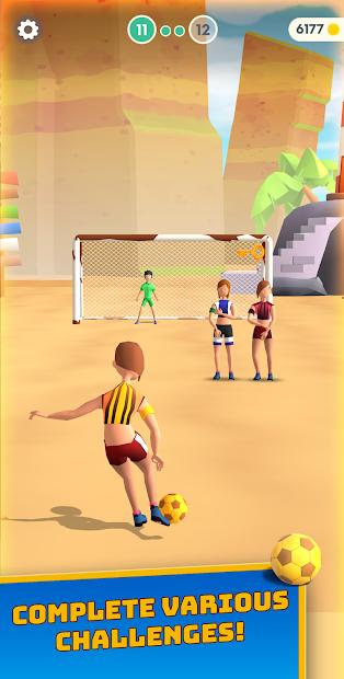 Flick Goal! Android App Screenshot