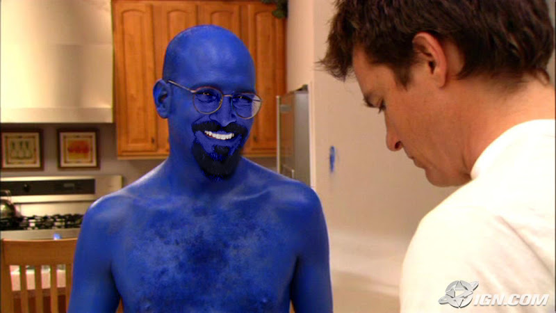 "Photo: Tobias: Oh no no, I'm not in the group yet, I just ""blue"" myself. Michael: There has got to be a better way to say that.  +Movie Mashup Tuesday rolls on! For my recast of Arrested Development, +Mark Rodriguez takes a turn as everyone's favorite AnalRapist (analyst/therapist,) Tobias Funke.  +Movie Mashup Tuesday is curated by +Mark Rodriguez +shane holsclaw +Chrysta Rae and +Isabelle Fortin"