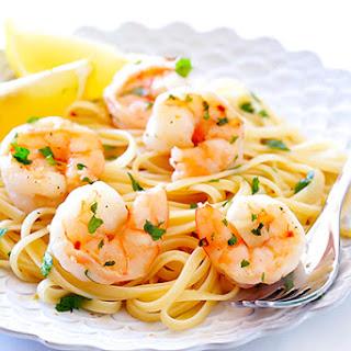 Skinny Shrimp Scampi.