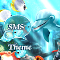 Water Fish Theme GO SMS Pro icon