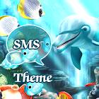 Sea Fish Theme GO SMS Pro icon