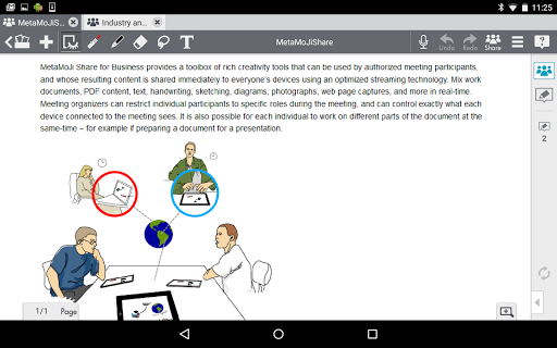 MetaMoJi Note for Business 3 3.7.7.0 screenshots 7