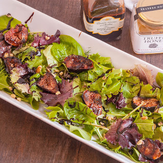 #CookOutWeek - Post About Giveaway - Bacon Wrapped Grilled Figs with Truffle Honey