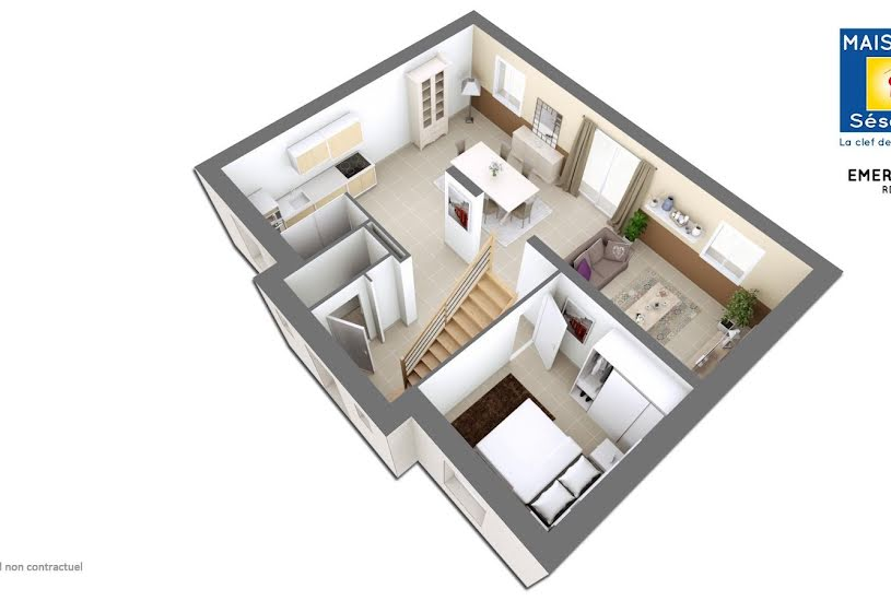 Vente Terrain + Maison - Terrain : 470m² - Maison : 120m² à Saint-Mard (77230)
