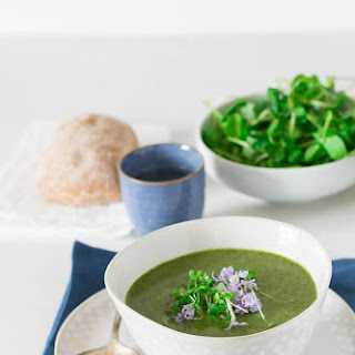 Creamy Rocket and Watercress Soup in the Multicooker Redmond Recipe