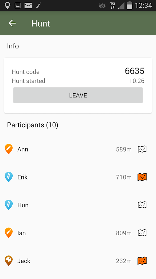 Huntloc - Hunting app- screenshot