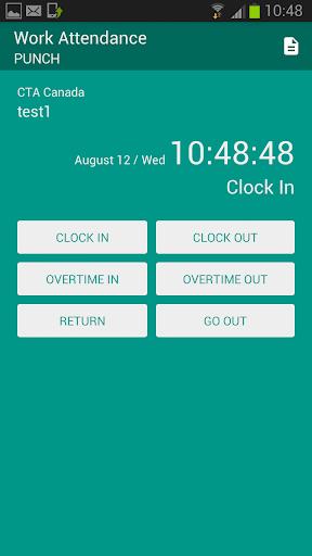 TimeClock - Time attendance
