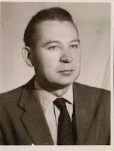 Photo: Stanisław Skowron - kierownik szkoły w Rogoźniku w latach 1954 - 1972.  Zdjęcie udostępnił ks. Paweł Skowron.