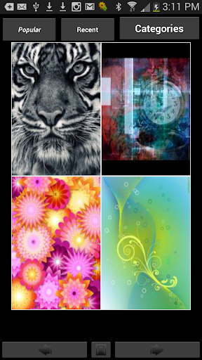 Backgrounds HD Wallpapers screenshot 1