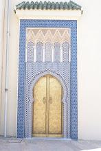 Photo: Palace gate, Fes