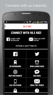 98.5 KRZ- screenshot thumbnail
