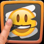 Scratch Emoji Quiz. Logo Guess Icon