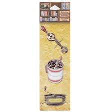 7 Gypsies Architextures Trinkets Adhesive Embellishments - Kitchen GadgetsUTGÅE