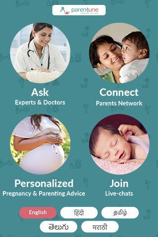 Pregnancy Advice, Parenting Tips & Baby Care App screenshot