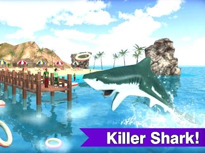 Flying Shark Underwater Sharks Action Game - náhled