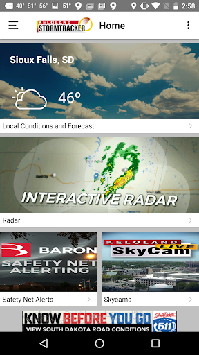 KELO Weather u2013 South Dakota  screenshots 1