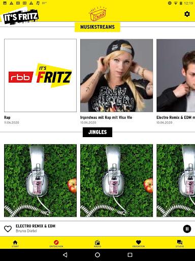 Radio Fritz  screenshots 16