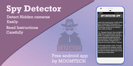 Spy Camera Detector - Hidden Camera Detector screenshot thumbnail