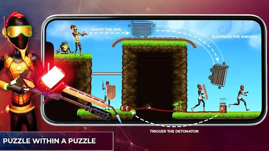 Stickman Reborn – Free Puzzle Shooting Games 2020 5