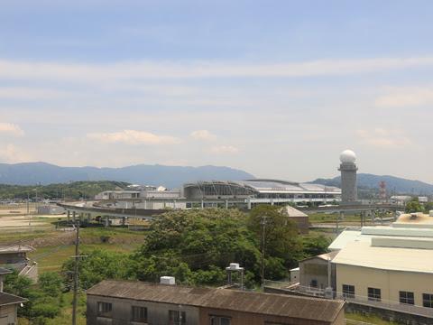 西鉄高速バス「桜島号」 9134 車窓 その1 福岡空港国際線ターミナル