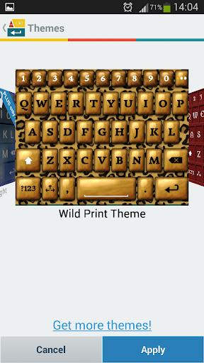 A. I. Type Wild Print א