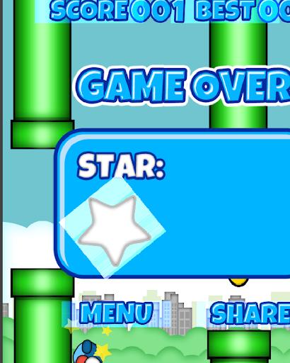 Flappy Blue Bird HD