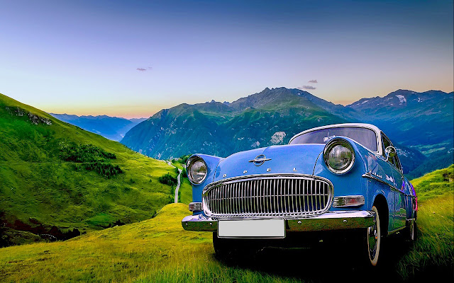 Vintage Car - New Tab in HD