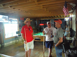Photo: Day 27 Wall SD to Murdo SD 88 miles 2290' climbing: Jim talking to Tim the owner of Rusty Spur
