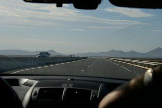 Photo: Sur autoroute A7 direction Marrakech