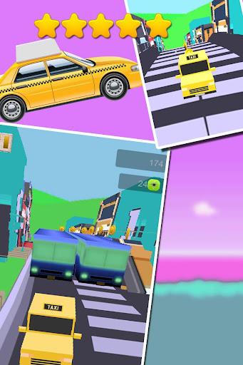 Rocky Road Taxi Dash 3D