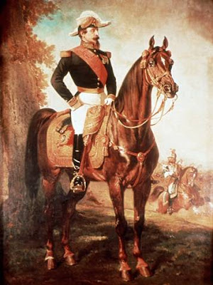 Napoleone III a cavallo