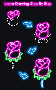 How to Draw Glow Flower- screenshot thumbnail