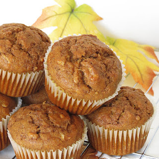 Cinnamon Pumpkin Apple Muffins.