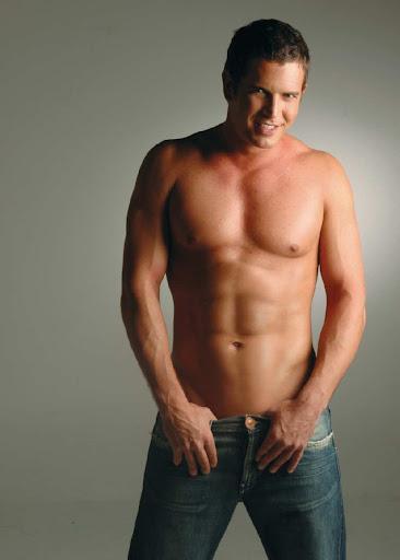 Low waist jeans Model Diego Ramos