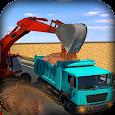 Loader Crane & Hill Truck Dump