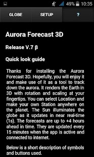 Aurora Forecast 3D- screenshot thumbnail