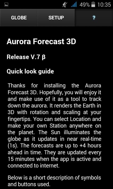 Aurora Forecast 3D- screenshot