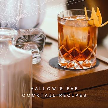 Hallow's Eve Cocktails - Halloween template