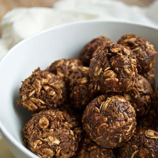 Cocoa Peanut Butter Energy Balls.