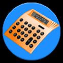 Stocks return calculator icon
