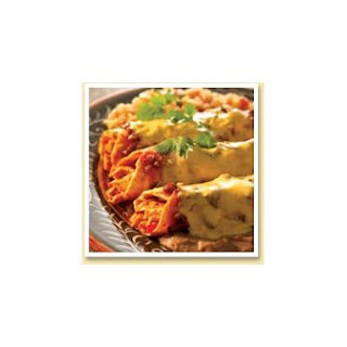 Southwestern Steak Enchiladas.