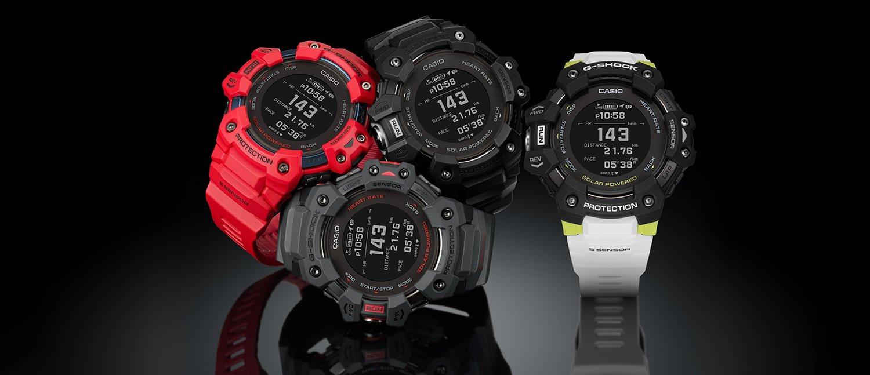 Nowoczesny design smartwatchy z kolekcji GBD-H1000 G-SQUAD