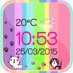 Kitty Weather Clock 1.0 Apk