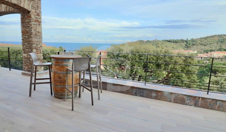 Villa avec piscine Collioure