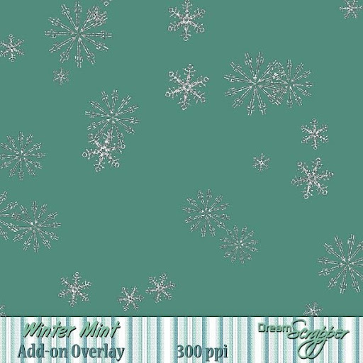 Winter Mint Add-on Overlay