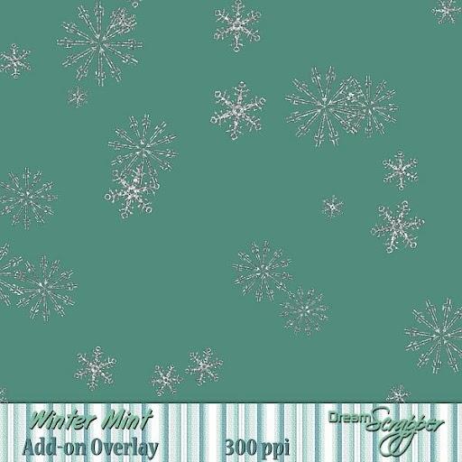 Winter Mint Add-on Overlay