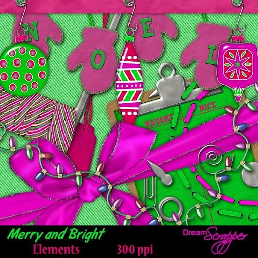 Merry and Bright Elements