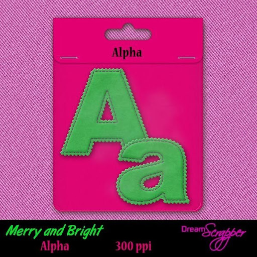 Merry and Bright Alpha
