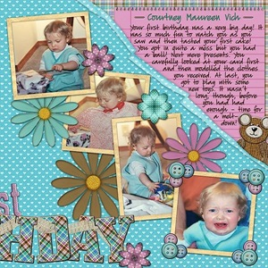 1st Birthday - page 2